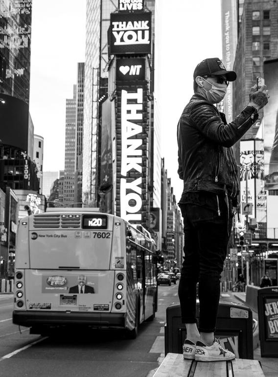 Selfie in NY